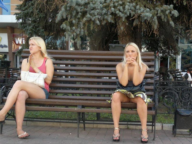 Upskirt или что у девушек под юбками