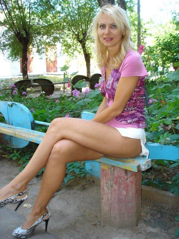 Секс со зрелыми русскими блондинками