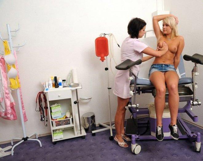 эротический осмотр у гинеколога фото