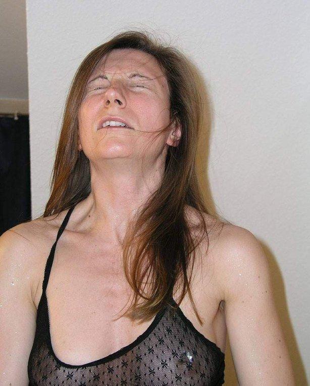 Лица девушек во время оргазма