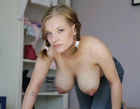 девушки с висьчей грудью фото
