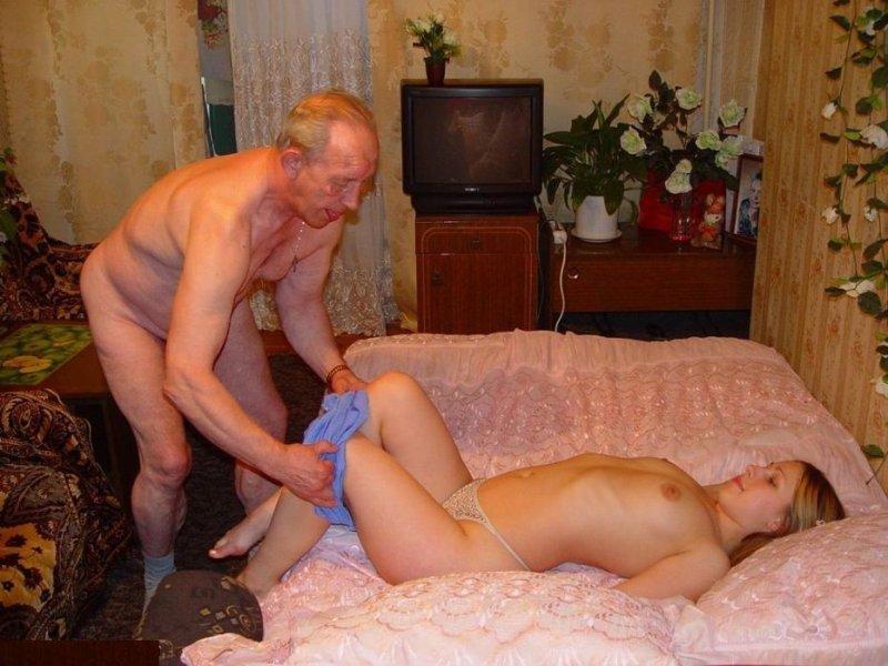Порно домашнее со стариками