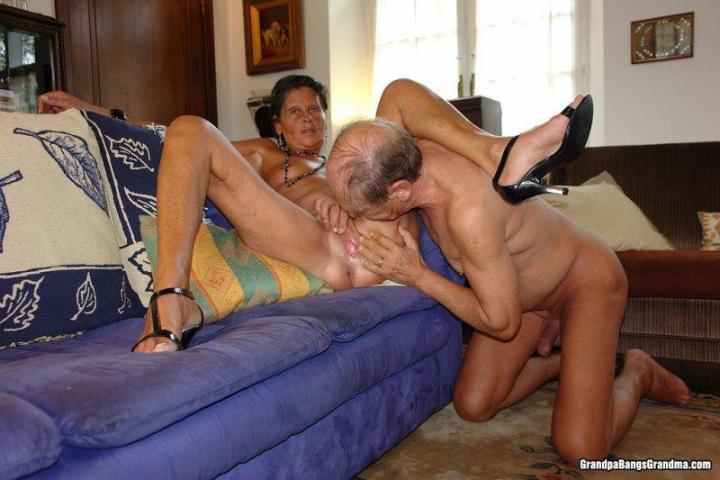 Секс деда бабкой
