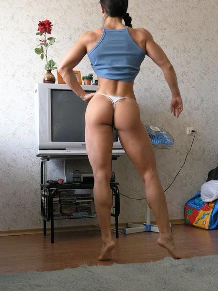 женские мускулистые попы фото