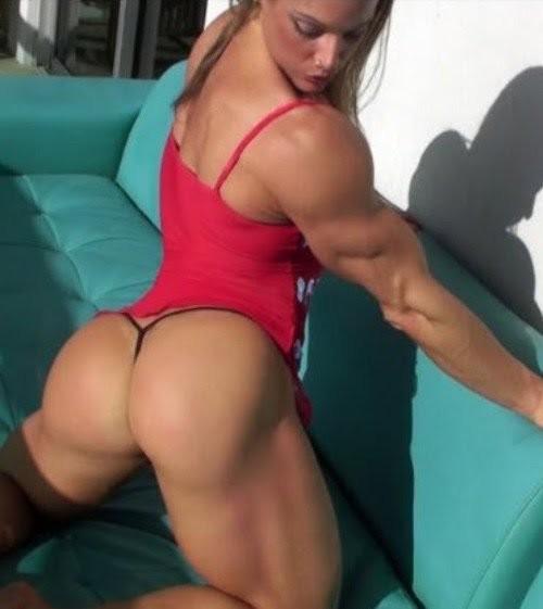 мускулистые жопы женщины