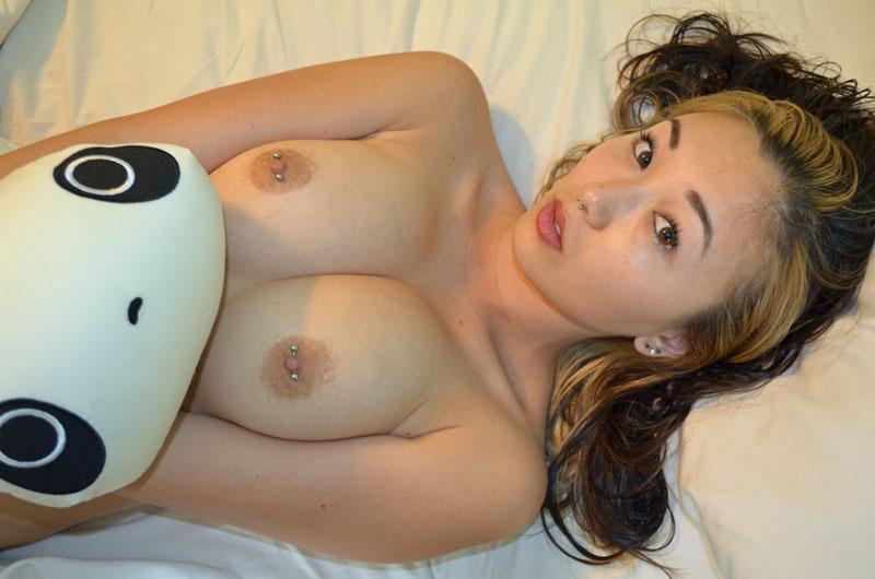 Nipple piercing erotic