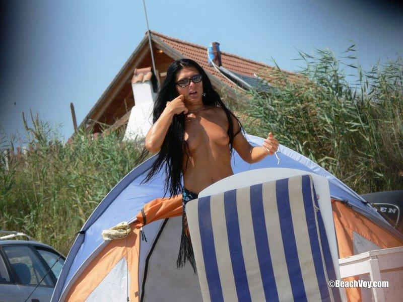 Эксклюзивная фотоподборка нудистов на пляжах