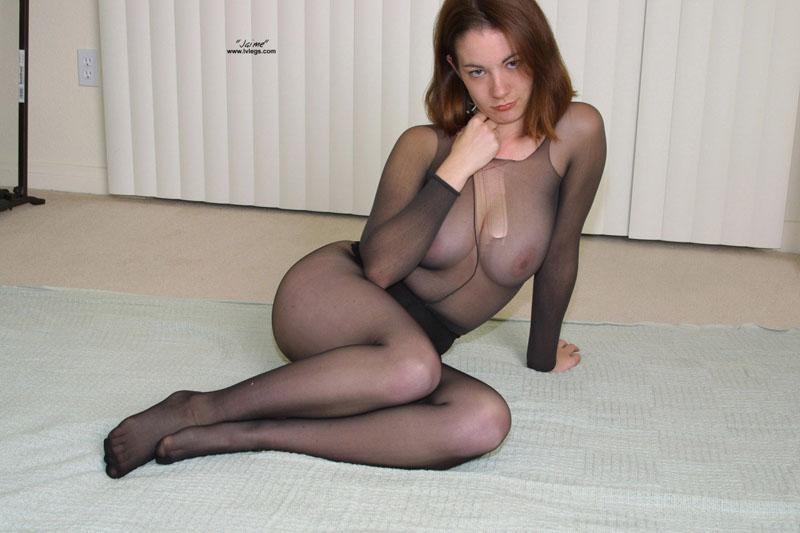 секс в колготки и сетка